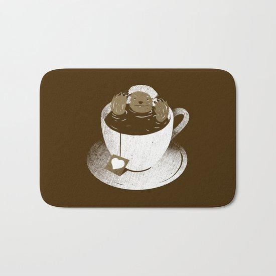Monday Bath Sloth Coffee Bath Mat