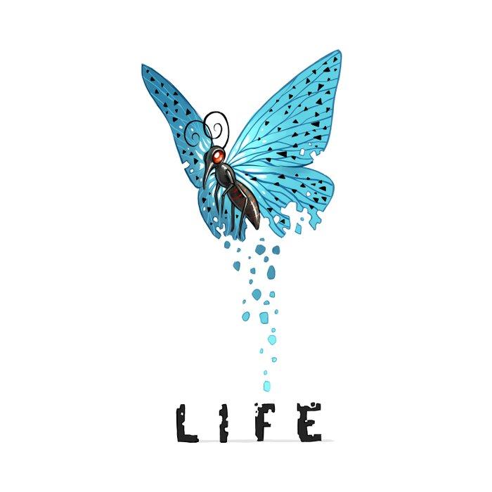 Life Duvet Cover