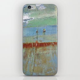 Harbour Abstract II - JUSTART (c) iPhone Skin