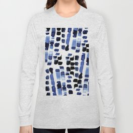 Blue Swatches Long Sleeve T-shirt