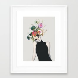 Floral beauty Framed Art Print