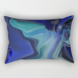 ANGEL OPENING HER WINGS TO YOU Rectangular Pillow