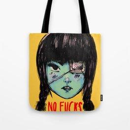 no fucks Tote Bag