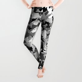 Gray urban camouflage Leggings