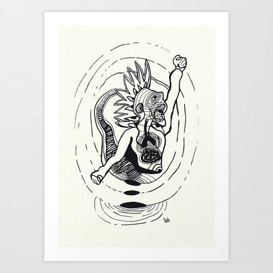 Revolution! Art Print