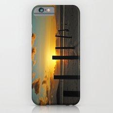 Golden sunset iPhone 6s Slim Case