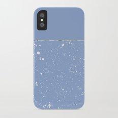 XVI - Blue 1 Slim Case iPhone X
