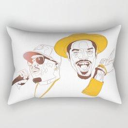 Andre 3000 and Big Boi Rectangular Pillow