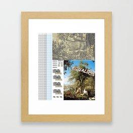 equal Framed Art Print