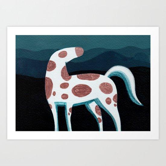 Appaloosa, Mountain Horse Art Print