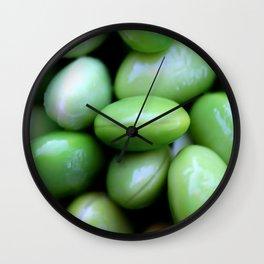 Edamames Wall Clock