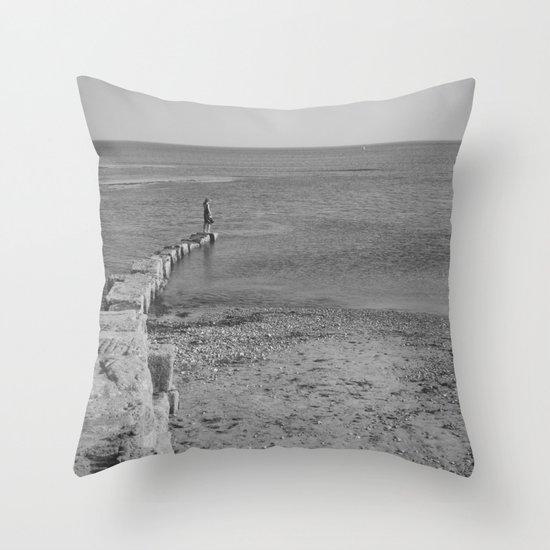come sail your ships... Throw Pillow