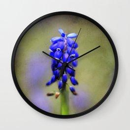 little blue bells Wall Clock