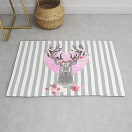 STAG IN SPRING - YOUNG LOVE Rug