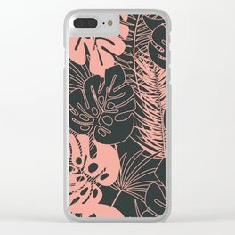 Tropical pattern 034 Clear iPhone Case