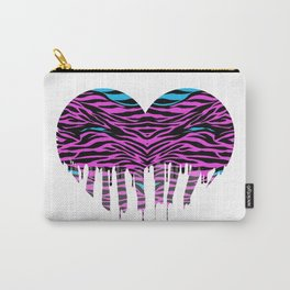 Stripes heart two Carry-All Pouch