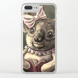 Grandmother Koala Bear Clear iPhone Case