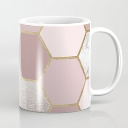 Sensations of the mind rose gold Coffee Mug