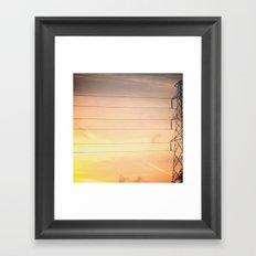 Texas Skies Framed Art Print