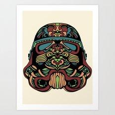 Candie Trooper Art Print