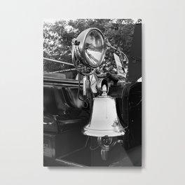 Fire Truck Bell II Metal Print