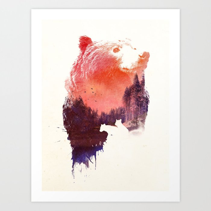 Discover the motif LOVE FOREVER by Robert Farkas as a print at TOPPOSTER