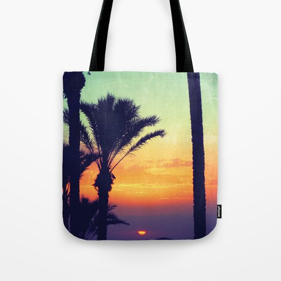 Ibiza Sunrise Tote Bag
