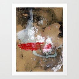Caving In Art Print