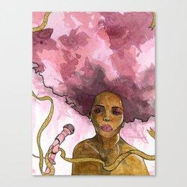 Macy Gray's Greatest Hits Canvas Print