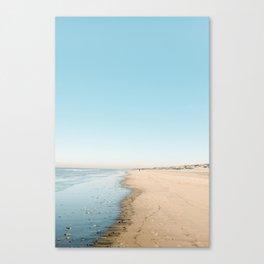 Noordwijk aan Zee | Beach photography The Netherlands on a Summer day Canvas Print