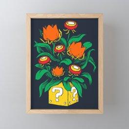 Florem Ignis Framed Mini Art Print