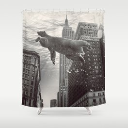 disenthrall Shower Curtain