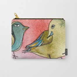 Love is in a feathers Carry-All Pouch