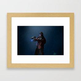 Galaxy Guardian Framed Art Print