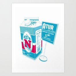 N_ature Art Print