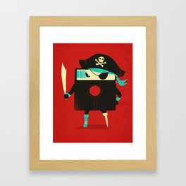 Software Pirate Framed Art Print