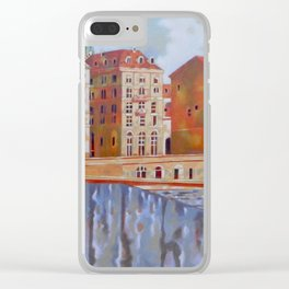 Memory of Turin Clear iPhone Case