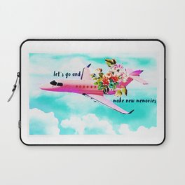 Let´s go and make memories Laptop Sleeve