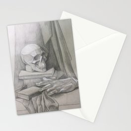 academic drawing Stationery Cards