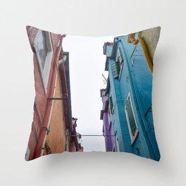 Urban Color Throw Pillow