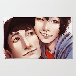 Tadashi is Here Rug