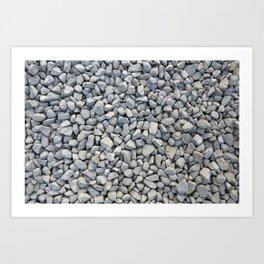 I Am a Rocks Art Print