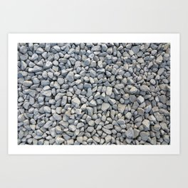 I Am a Rocks Art Print