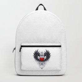 Dark angel heart Backpack