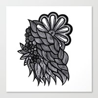 ornate Canvas Prints featuring Ornate  by Shivani C