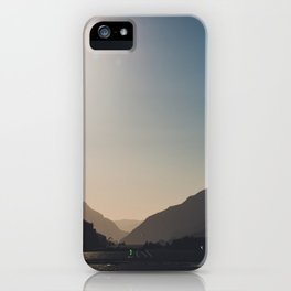 Kitesurfing the Gorge iPhone Case