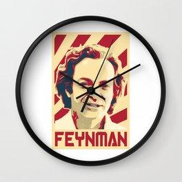 Richard Feynman Retro Wall Clock