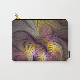 Unity, Abstract Colorful Fractal Art Carry-All Pouch