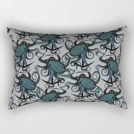 octopus ink smoke Rectangular Pillow