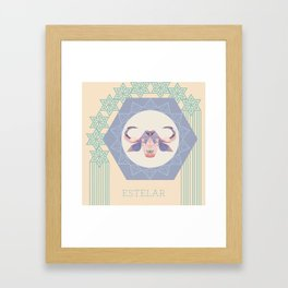 Baph Estelar Framed Art Print